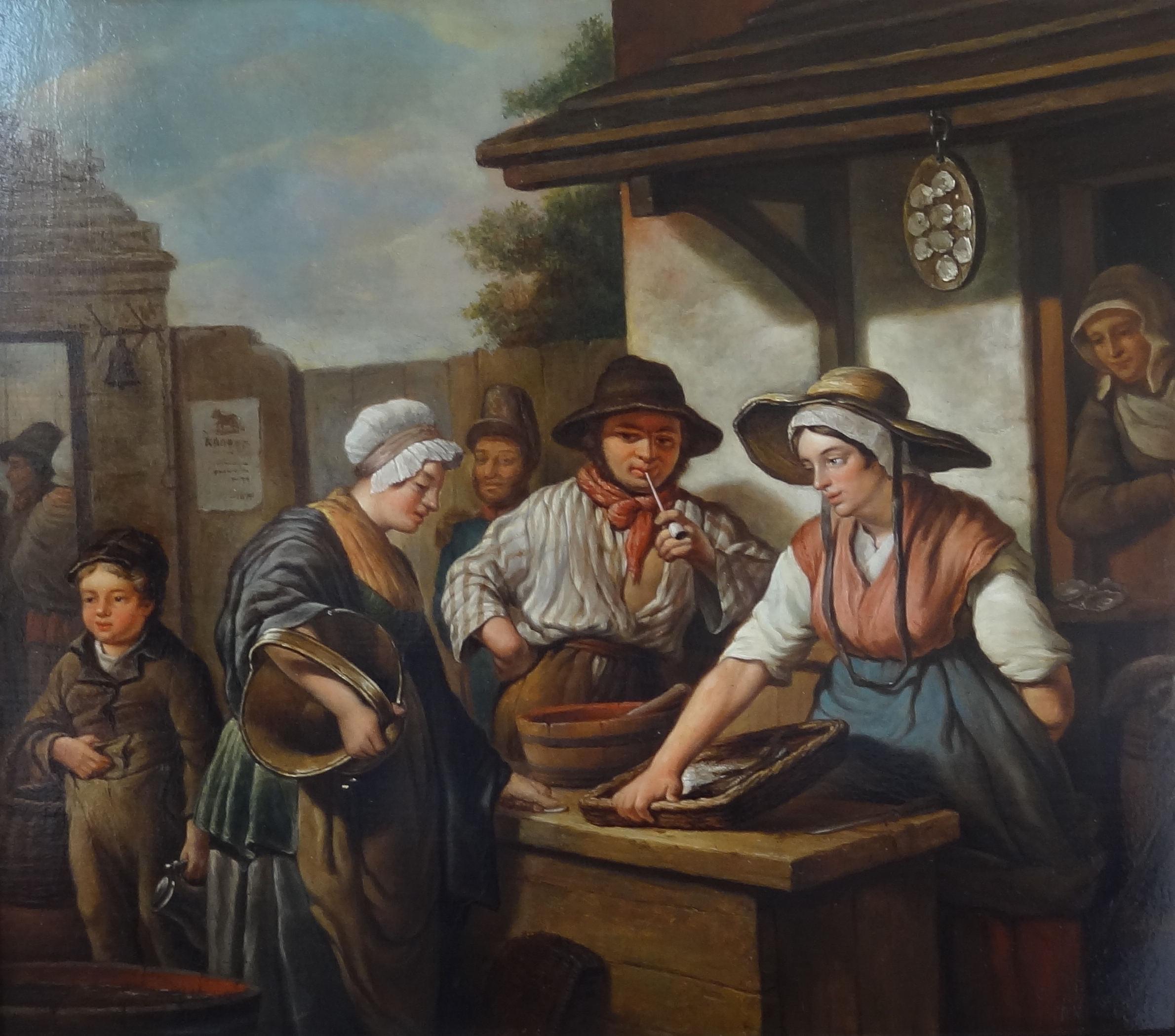 Belgium school – Fish sellers