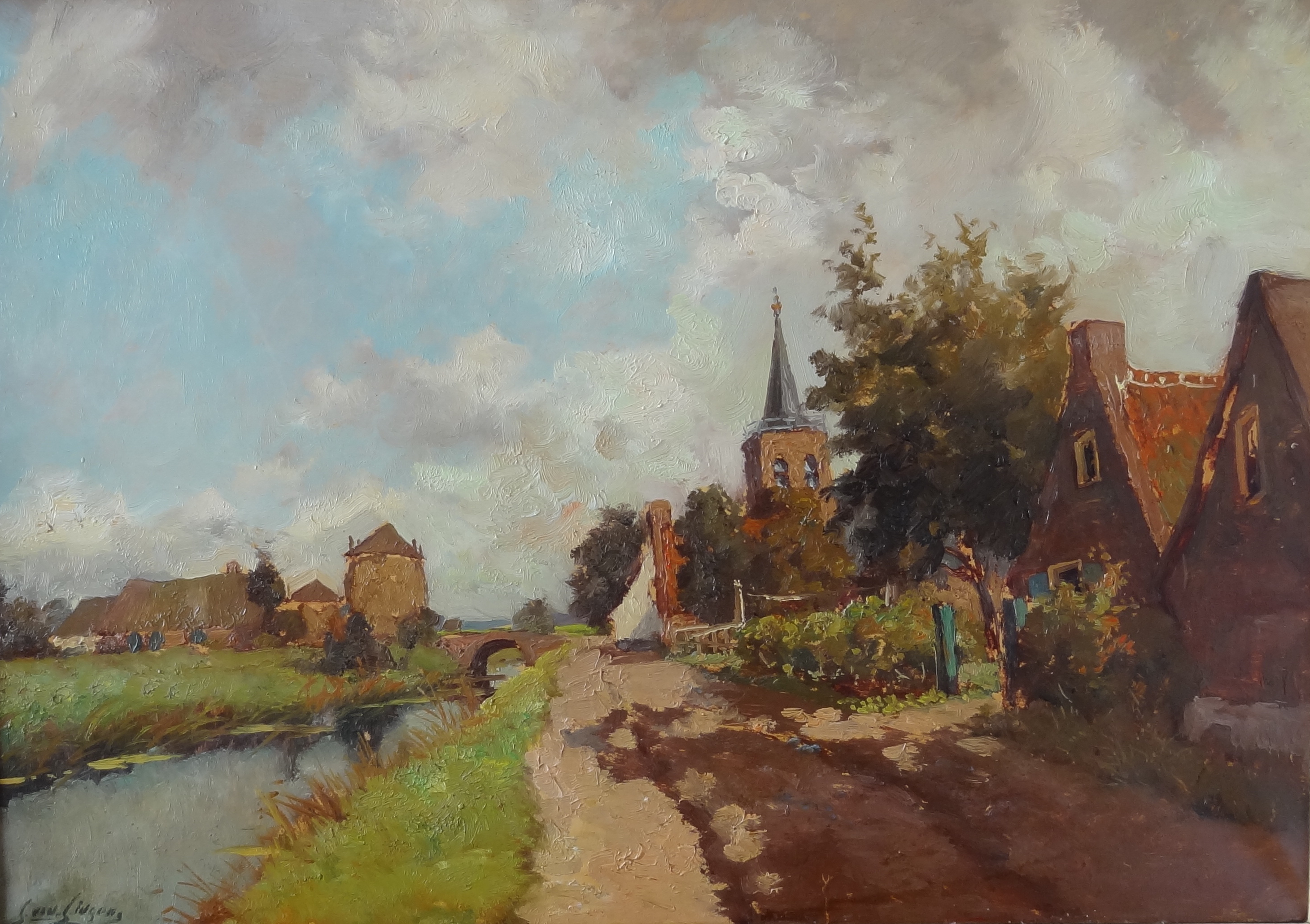 Jan van Lingen – View on Kortenhoef