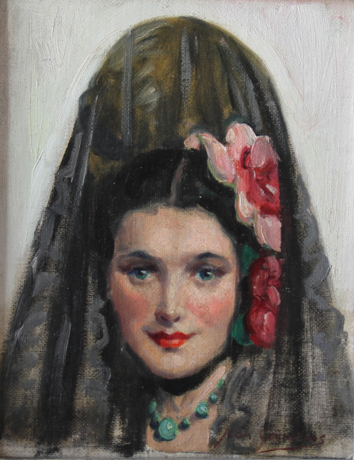 Jean Gouweloos - Spanish woman