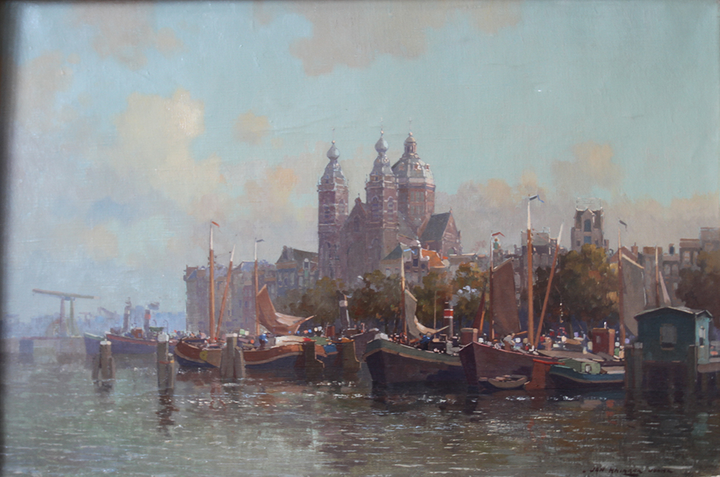 Jan Knikker junior – Sint Nicolaas church Amsterdam