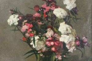 Adriaan P. van Mever - Sweet William Still-life