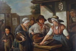 Belgium school - Fish sellers