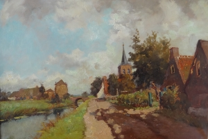 Jan van Lingen - View on Kortenhoef