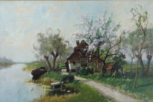 P. Bor - Dutch Landscape