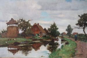 G. F. van Schagen - View on Kortenhoef