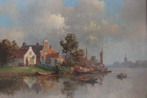 Jan Knikker junior – View on Zutphen
