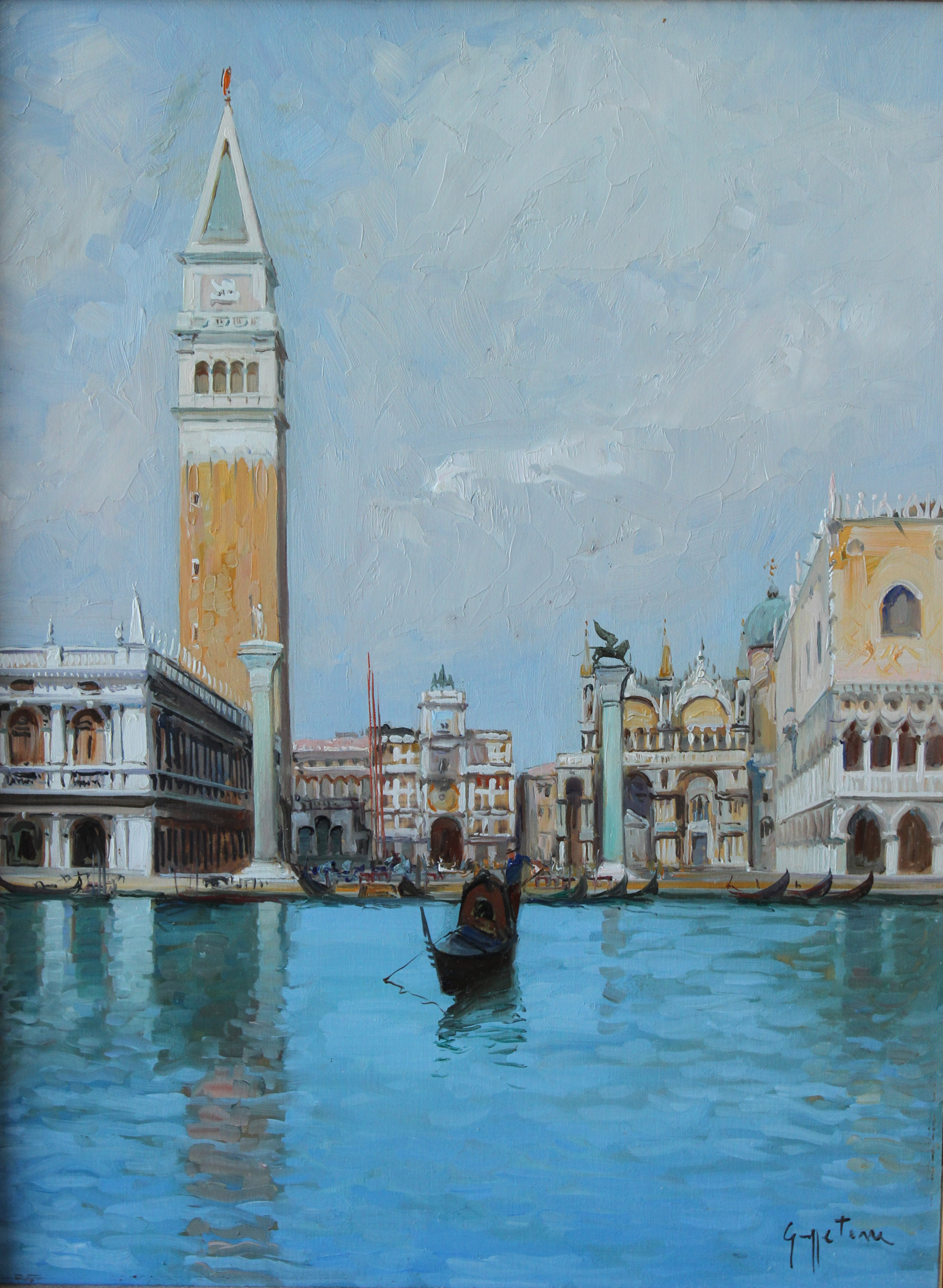 Guiseppe Torre Painter of Venice