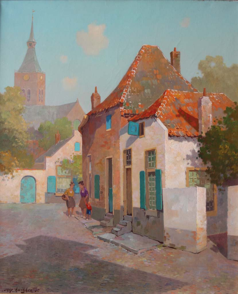 Jan Knikker Junior – Street in Hattum