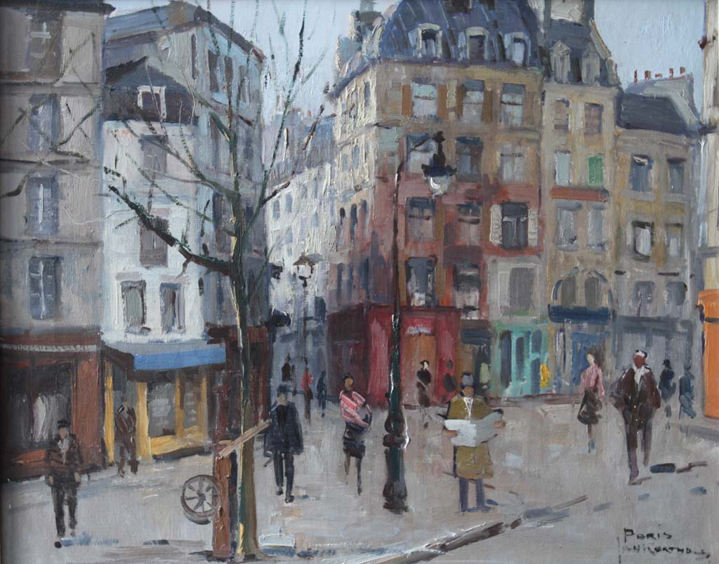 Jan Korthals – Streetview Paris